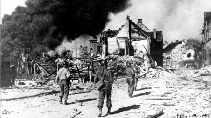 Zweiter Weltkrieg, Einmarsch der Alliierte