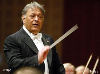 Indian conductor Zubin Mehta