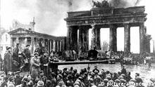 Солдати Червоної армії в Берліні, квітень 1945 року