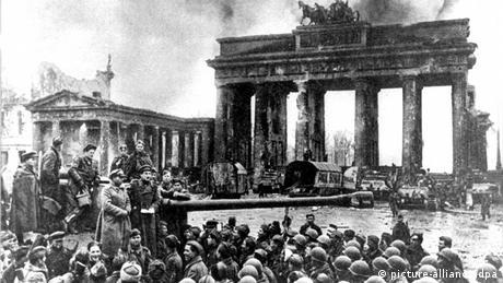 Друга світова війна, радянські війська звільняють Берлін
