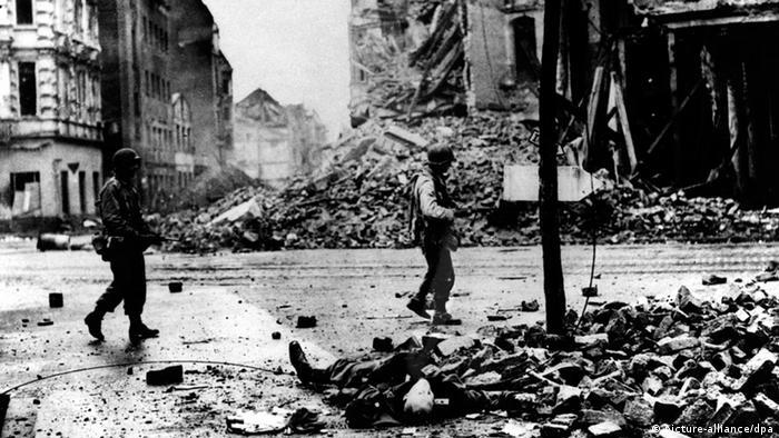 Zweiter Weltkrieg, Amerikaner erobern Köln