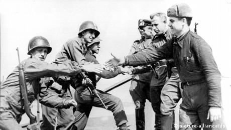 Зустріч на Ельбі, Друга світова війна