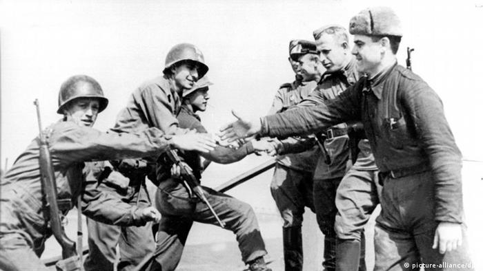 Zweiter Weltkrieg, Treffen bei Torgau