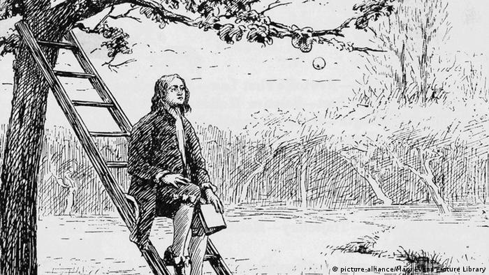 Ньютон и яблоко