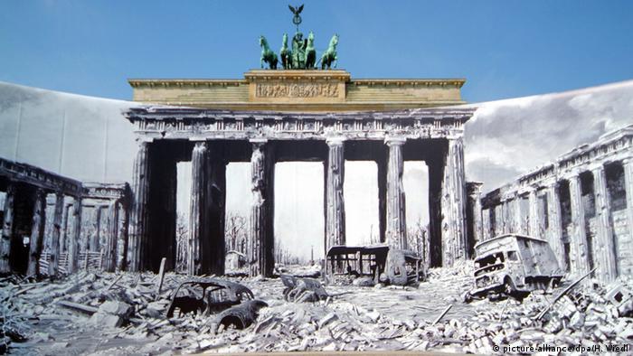 Wirtualna wystawa o wyzwolonym Berlinie: Brama Brandenburska