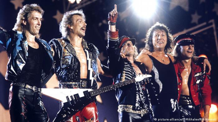 Sierpień 1989: Scorpions w Moskwie na stadionie Łużniki