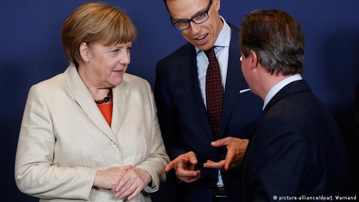 Канцлер ФРГ, премьер-министры Финляндии и Великобритании на саммите в Брюсселе