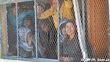 Im Auffanglager Surman gibt es auch rund 100 Frauen und Kinder *** DW, Maryline Dumas (Korrespondentin Französische Redaktion), 03.02.2015