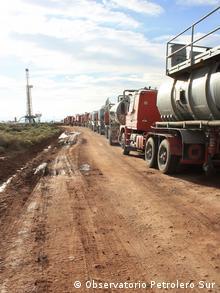 Fracking in Patagonien, Argentinien