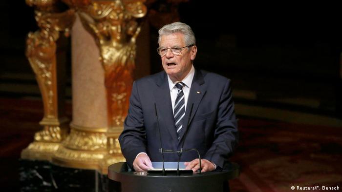 Deutschland Gottesdienst Gedenken Mord an Armeniern Gauck Rede
