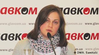 Правозащитница Мария Томак
