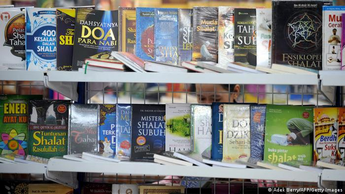 Bücher in einem Buchladen in Indonesien (Foto: ADEK BERRY/AFP/Getty Images)