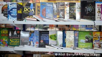 Religious books on display in Indonesia (Photo: ADEK BERRY/AFP/Getty Images)