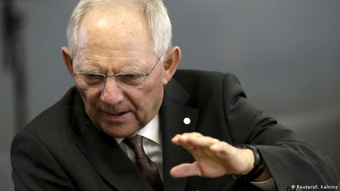EU Finanzministertreffen in Riga Schäuble