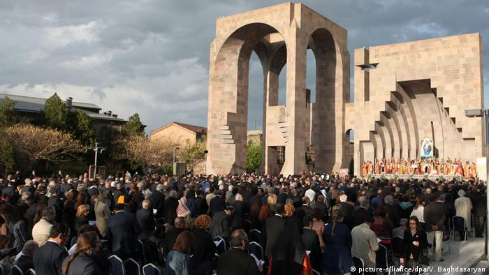 Armenia genocide remembered in the capital Yerevan