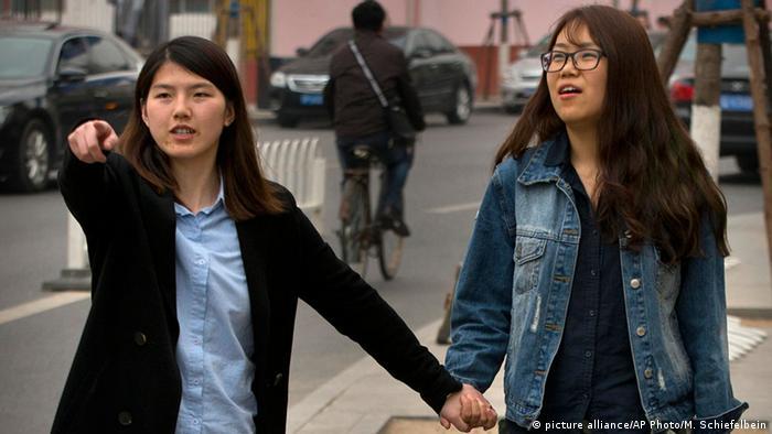 China Aktivistin Li Tingting