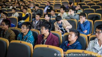 Poluprazna predavaonica u Kini