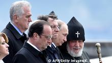 Armenien Völkermord Gedenkfeier Putin Hollande