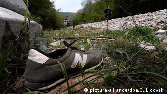 Flüchtlinge bei Zugunfall in Mazedonien getötet