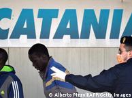 Catania - prva postaja za izbjeglice