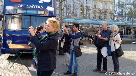 Aktion in Bonn Femnet.e.v