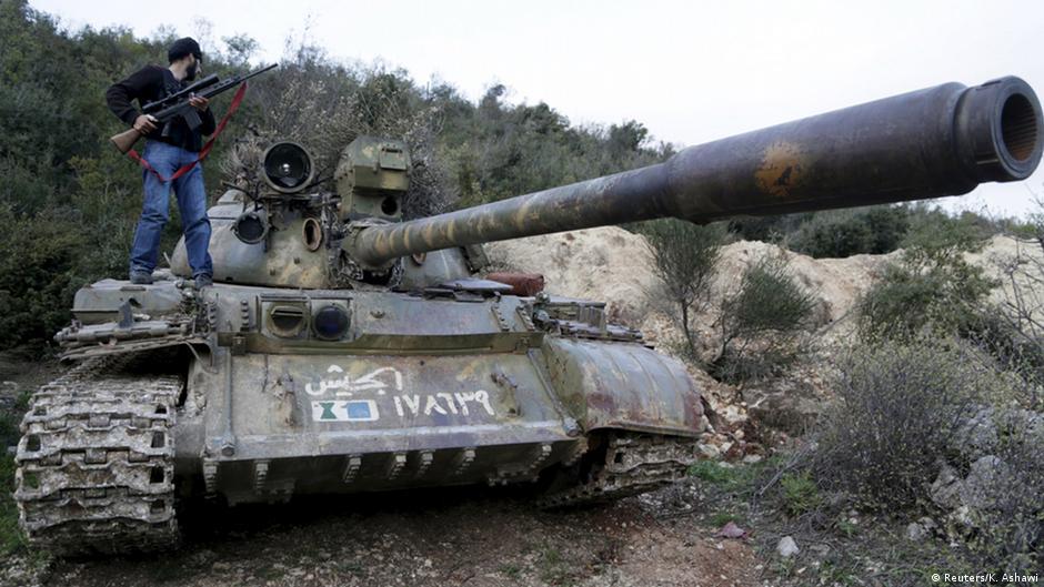 سوريا- المعارضة تسيطر على قاعدة عسكرية هامة في إدلب | DW | 27.04.2015