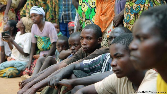 Wakimbizi wa Burundi walioko nchini Rwanda.