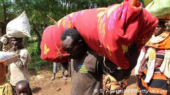 Un refugié burundais au Rwanda