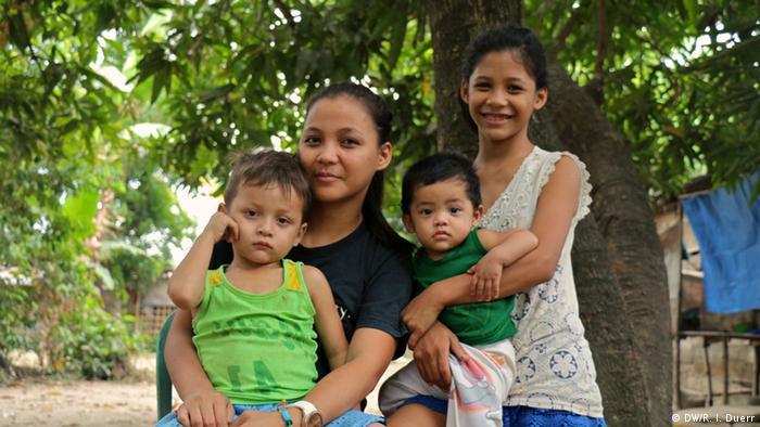 Marcia sa svojom djecom