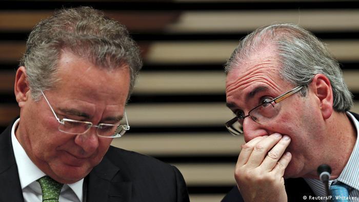 Renan Calheiros e Eduardo Cunha