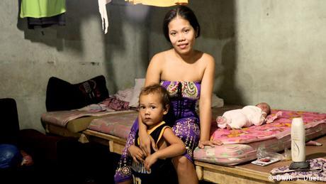 Kinder von Sextouristen auf den Philippinen