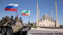 Russische Spezialeinheiten in Tschetschenien