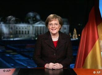 Chancellor Merkel wants to rebuild ties with the US but will not shy away from thorny issues