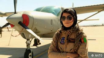 Afghanistan Armee-Pilotin Niloofar Rahmani