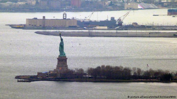 Estátua da Liberdade, em Nova Iorque