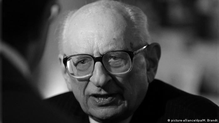 Wladyslaw Bartoszewski ehe. Außenminister Polen SW