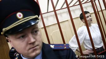 Moskau Prozess gegen ukrainische Kampfpilotin Nadia Sawtschenko (Foto: Vyacheslav Prokofyev TASS )