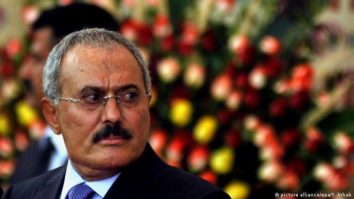 Jemen Präsident Ali Abdullah Saleh 2012 (picture alliance/epa/Y. Arhab)
