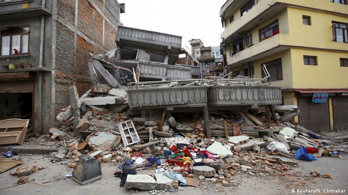 Nepal Kathmandu Starkes Erdbeben