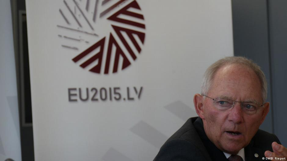 Finance Minister Schäuble hints at preparations for a Plan B on Greece | DW | 26.04.2015