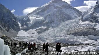 Archivbild Nepal Mount Everest