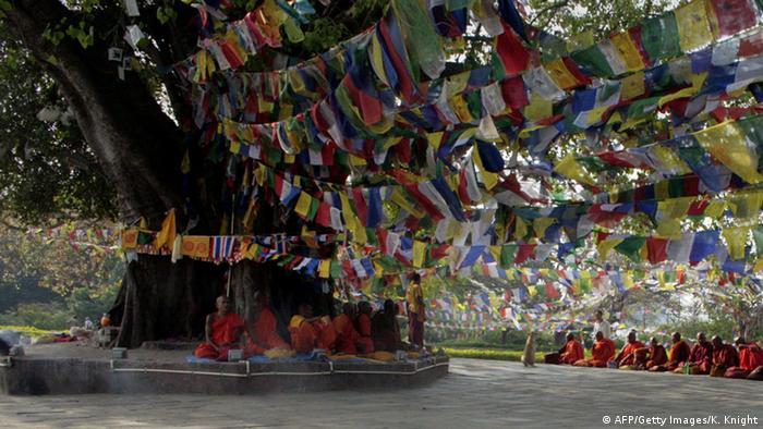 Nepal Lumbini Geburtsort von Buddha