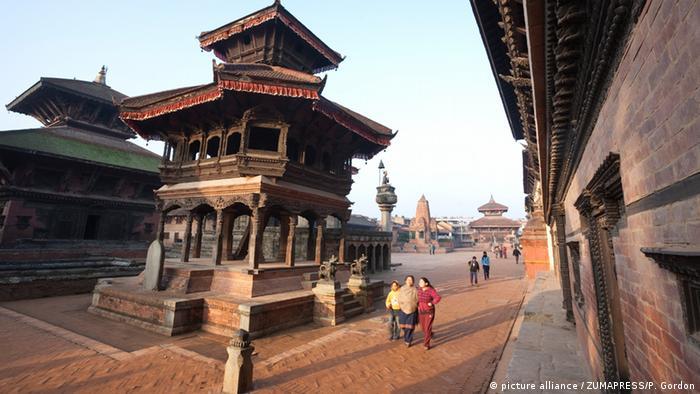 Площа Дурбар у Бхактапурі перед землетрусом