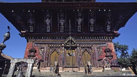 Nepal Erdbeben Bildergalerie zerstörte Weltkulturerbe Tempel Changu Narayan
