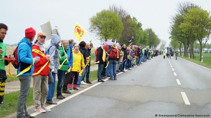 Greenpeace Aktion Garzweiler