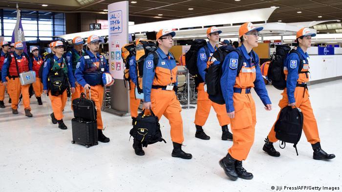 Nepal Erdbeben Hilfsaktion Hilfseinsatz Japan
