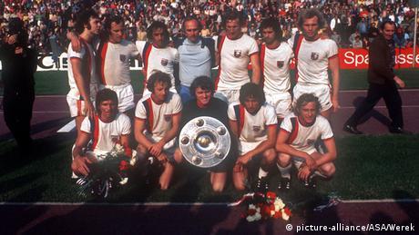 Deutschland Fußball 1973 Deutscher Meister FC Bayern München