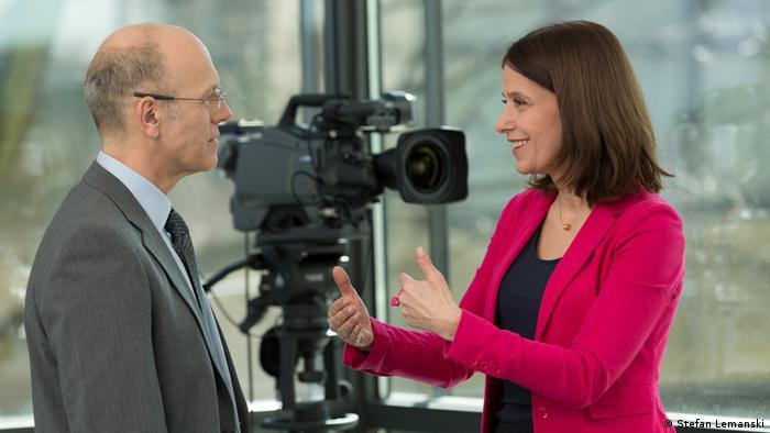 Media training by DW Akademie (photo: Stefan Lemanski).