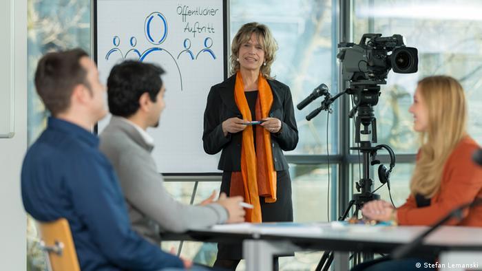 Medientraining der DW Akademie (Foto: Stefan Lemanski).