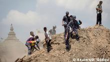 Nepal Rettungsaktion nach Erdbeben in Kathmandu